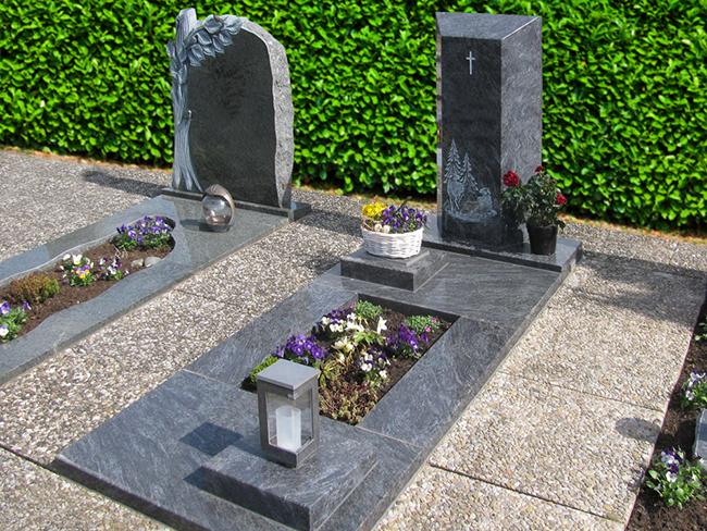 Einzelgräber